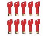 förderndes Metalbunter Schlüssel USB des Geschenk-4GB mit freiem Firmenzeichen