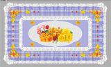 LFGB todo en un mantel transparente impreso independiente los 90*145cm del diseño (TZ-0024)