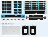Garnitures approuvées de téléphone cellulaire de la CE découpant des stations avec des matrices de la machine 8