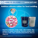 Nahrungsmittelgrad-Platin ausgehärteter Silikon-Gummi