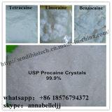 Clorhidrato de procaína anestésico local elevado del ácido clorhídrico 51-05-8 de la procaína de la pureza el 99%