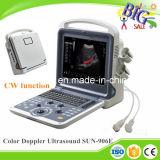 2D 3D échographie-Doppler de couleur de l'onde entretenue Ecografo Portatil 4D pour Sun-906e cardiaque
