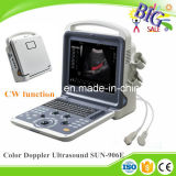 2D 3D Cw Ecografo Portatil 4D Doppler Color Ultrasonido Cardíaco Sun-906e