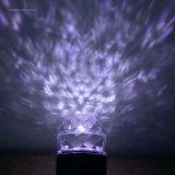 LEDののためのそして屋内で青く暖かく白い万華鏡の動きの炎水波のスポットライトプロジェクター屋外