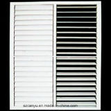 Cliente de la parrilla de ventana de aluminio con revestimiento de madera ventana abatible