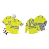 La tecnologia del tecnico dell'OEM ha aumentato l'uniforme riflettente del lavoro di alta visibilità