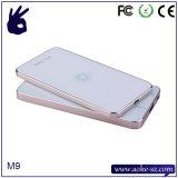 Вспомогательное оборудование мобильного телефона алюминиевого сплава заряжателя мобильного телефона Qi качества Hight беспроволочное материальное франтовское