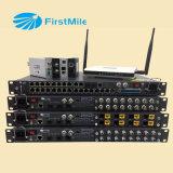 Ethernet-Schalter über Telefonlinie