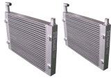 Piezas de aluminio del compresor de aire del tornillo de Copco del atlas del radiador del refrigerador de petróleo