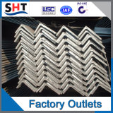 Ángulo de suministro de fábrica de acero de buena calidad y precio más bajo