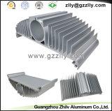 Disipador de calor de aluminio de aluminio/inoxidable de la protuberancia LED