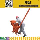 Machine de fabrication de brique manuelle de l'argile Qmr2-40 Mexique