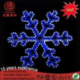 Wasserdichte LED-Schneeflocke-Weihnachtslichter für die Plam Baum-Dekoration im Freien