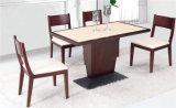 Madeira contínua que janta preço de grosso ajustado da tabela da mobília