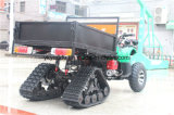 Quatro lâmpada principal 250cc ATV com armazenamento grande do pneu de neve