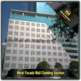 알루미늄 벽 정면 클래딩을%s 장식적인 관통되는 알루미늄 위원회