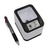 2D 1d 2D scanner mobile de présentation et de papier des codes lu par scanner USB
