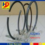 V2203 V2403 pour l'anneau de piston réglé d'engine de Kubota (1G868-21112)