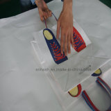 Белая хозяйственная сумка бумаги Kraft