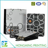 Kundenspezifisches Firmenzeichen gedruckter Geschenk-Papierbeutel für das Einkaufen