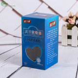 Изготовленный на заказ бумажные упаковывая коробки для продуктов здравоохранения микстуры/косметики/подарка (KG-PX053)