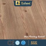 Materiale da costruzione resistente Grooved della pavimentazione laminata dell'acqua del parchè U della quercia