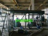 Planta de recicl preta do petróleo de motor, equipamento da destilação de vácuo do petróleo Waste