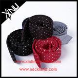 Laços magros feitos sob encomenda tecidos por atacado de seda das meninas de 100%