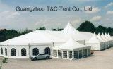 Изготовленный на заказ форменный шатер Clearspan соединился с выступленными шатрами крыши/специальным шатром смешивания конструкции