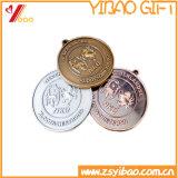 Souvenir élevé MEDA/médaillon de l'or 3D (YB-HR-47)
