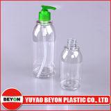 O frasco plástico vazio o mais barato para a lavagem do champô e do corpo (ZY01-B087)