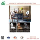 結婚式の賃貸料のホテルの椅子のルイ様式の木製の椅子の丸背のルイ木椅子