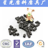 Kohle gegründeter Spalte-Tablette betätigter Kohlenstoff-Preis pro Tonne für Wasserbehandlung