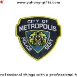 Selbstklebendes Stickerei-Emblem-Abzeichen für Kleider (YH-EB090)
