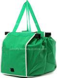 Nicht gesponnener Einkaufstasche-Lebensmittelgeschäfttote-Beutel Fernsehapparat-Zupacken-Beutel