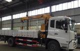 Le camion de roues de Dongfeng 4X2 6 a monté avec la grue de 5t XCMG à vendre