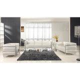 現代居間の家具の革かファブリックソファー(T011C)