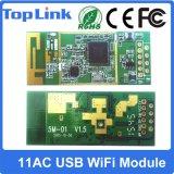 802.11AC 433Mbps 지능적인 관제사를 위한 듀얼-밴드 2.4GHz/5GHz 고속 무선 Wi Fi USB 모듈