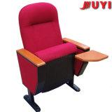 Jy-605m VIP 상표 실내 실내 장식품 3D 싼 가격 옥외 접히는 플라스틱에 의하여 이용되는 금속 Padeed 움직일 수 있는 강당 극장 의자