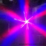 최신 소형 돌릴수 있는 꿀벌 눈 6*10 RGBW 4in1 LED 이동하는 맨 위 단계 광속 빛