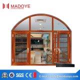 Окно Casement поставкы фабрики Китая алюминиевое с экраном мухы