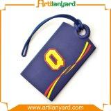 Tag macio da bagagem do logotipo colorido quente da venda