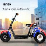 Triciclo elettrico di Harley Citycoco con il motore dell'asta cilindrica 1000W