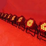 전문가 18X10W RGBW 4in1 동위 LED 단계 빛