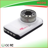 Mini automobile DVR 1080P di Dashcam dell'automobile di colore bianco