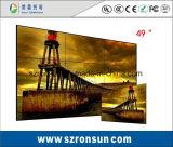Экран стены шатона 47inch 55inch тонкий соединяя LCD ужина узкий видео-