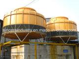 プラスチック産業のための円形の冷却塔