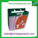 Tipo famoso romântico retro com o saco de papel do logotipo