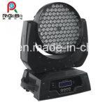 luz principal móvil de la colada LED de la luz de la etapa de 108X3w RGBW