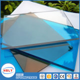 Protecteur UV Color Sunshade Résistance au feu PE Plaque en polycarbonate solide
